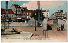 CPA 44 - SAINT NAZAIRE (Loire Atlantique) - Pont roulant et Place du Bassin