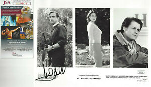 Star Wars & Village of the Damned Mark Hamill Autographed 8x10 photo JSA Cert