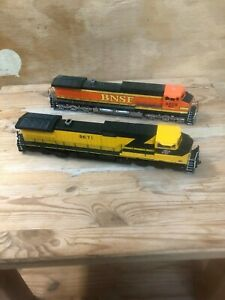 HO scale Athearn and Scale Trains