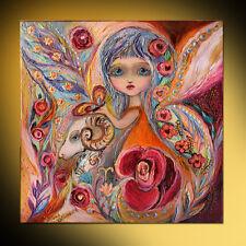 Fairies of Zodiac series Aries super quality pop art print Elena Kotliarker