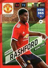 Panini Adrenalyn XL FIFA 365 2018 #81 Marcus Rashford Manchester United