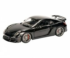 SCHUCO 1:18 PORSCHE CAYMAN GT4 METALLIC BLACK  ART 450040100 0401