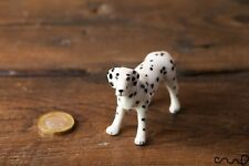 Ceramic Dalmatian Dog Doll Ornaments Collectable Animal Figure Pottery Gift