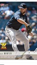 2018 TOPPS NOW MLB ALL STAR ROOKIE TEAM CARD ATLANTA BRAVES AJ MINTER #RC-12