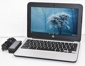 "HP Chromebook 11 G4 Celeron N2840 2.16GHz 4GB RAM 16GB SSD 11.6"" HDMI Chrome OS"