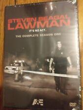 STEVEN SEAGAL LAWMAN - SEASON 1   New/Sealed     2 DVD Set