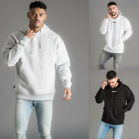 Gym King Mens Oversized Fit Fashion Designer Pullover Hooded Sweatshirt Hoodie