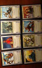 Mtg Vanguard Complete Set 1 - 8 cards NM - magic the gathering OVERSIZED