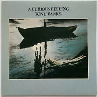 TONY BANKS GENESIS A CURIOUS FEELING LP POLYDOR 1979 CANADIAN PRESS NEAR MINT
