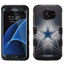 for Samsung Galaxy S7 Edge Armor Impact Hybrid Cover Case Dallas Cowboys #B