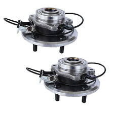 [1.513201] New Axle Wheel Hub and Bearing Assembly w/ABS 5-Lug Front Pair(2)