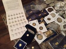 Gold, Silver, Rare US Coins and Currency Lot