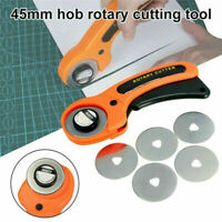 45mm Professional Round Rotary Cutter Sewing Quilting Roller Fabric Cutting Tool