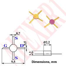 4x 3N343A  Low Noise GaAs MESFET transistor 4...12 GHz