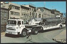 Canada Postcard - Bickle-Seagrave 85' Aerial Tractor, Quebec City, Quebec  A6908