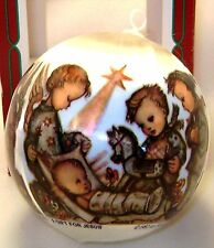 Goebel Ornament Blessed Event 1st Annual 1982 Hummel USA Christmas