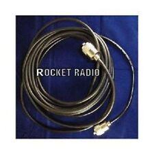 CB Radio Antena Coaxial RG58 32 ft (approx. 9.75 m) 10 M Plugs Coaxial ajustada PL259