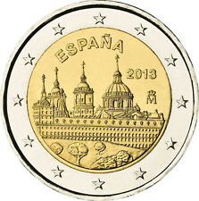 2 EURO Spagna 2013 - Monastero El Escorial, Patrimonio dell'umanità UNESCO