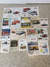 Vintage Ford Advertising Truck Magazine Ads ORIGINAL F-150 Large Lot
