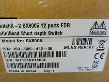 Mellanox MSX6005-2FS, EMC 12 port Unmanaged Switch, NEW!!!