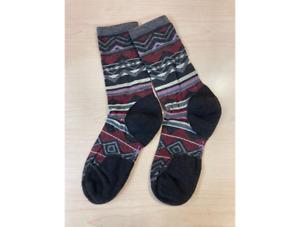 Smartwool Women's Ripple Creek Crew Socks Chestnut Size M 7-9.5