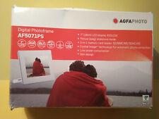 AGFAPHOTO Digitaler Bilderrahmen 7 (18 cm) LCD display, extraflaches Design, geb