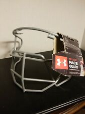 Under Armour helmet face Guard. No hardware