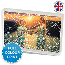 "24 Pcs Acrylic Photo Winter Snow Block Picture Gift Present | 6 X 4"" Inch"