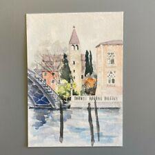 More details for mm168 san vidal venice mystery masterpieces postcard cityscape multi 15x10.5cm