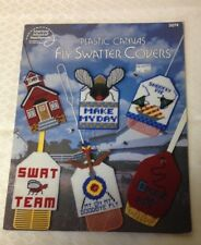 Plastic Canvas Fly Swatter Covers by American School of Needlework booklet