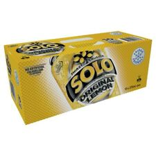 Solo Lemon Flavour Multipack Cans 375mL 10 pack