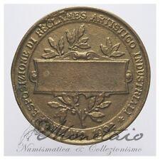 (Monetaio) Vitt. Ema. III Medaglia Esposizione 1902 Reclames Artistico Industria