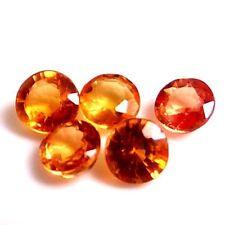 Orange Excellent Cut Loose Sapphires