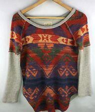 Denim & Supply Ralph Lauren Womens Size XS Navejo Pullover Top Shirt