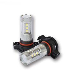 Toyota FT 86 FT86 Xenon White Cree LED Fog Light Bulbs Globes BRZ 80W PSX24W