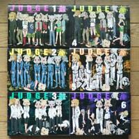 JUDGE【Japanese Language】Vol.1-6 set Complete Manga Comics  Shonen