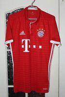 Bayern Munich Munchen 2016 2017 Home Adidas Shirt Jersey Trikot Size S