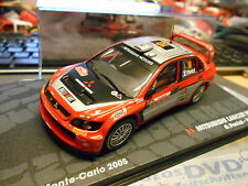 Mitsubishi Lancer WRC Rally de Monte Carlo 2005 #10 panizzi S-precio Ixo alta 1:43