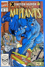 NEW MUTANTS #96  NM + 9.6) Marvel Comics 1990 Beast Cable Rob Liefeld Cover