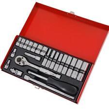 24 pièces 0.6cm Moteur standard et Jeu de douille en métal boîte
