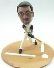 Custom Male Bobblehead Baseball Batter Pose 2 Any Team made to look like you