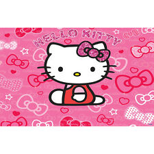 Wandtattoo Wandbild Sticker Kinderzimmer cm244x305 Walltastic HELLO KITTY 41271