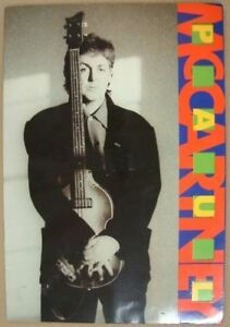 PAUL MCCARTNEY World Tour in Japan 1989 TOUR PROGRAM Japanese