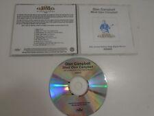 CD GLEN CAMPBELL MEET GLEN CAMPBELL LIMITED EDITION VINYL, DIGITAL ALBUM 2008