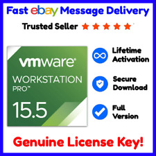 VMware Workstation Pro 15.5.2 ⭐ Genuine License For 5 PC's 📩 Fast Delivery