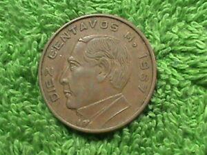 MEXICO 10 Centavos 1967