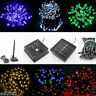 100-300 LED Solar Power Fairy String Light Party Garden Outdoor Christmas Tree