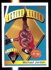 1995-96 Topps Active Scoring Leader #1 Michael Jordan (F)