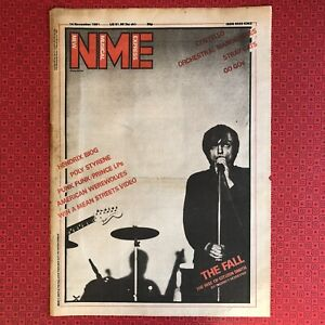 The Fall A3 Front Cover from the NME - Great for Framing - Poster