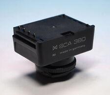 Metz SCA 380 Adattatore flash/flash Adattatore Per Contax Yashica - (202548)